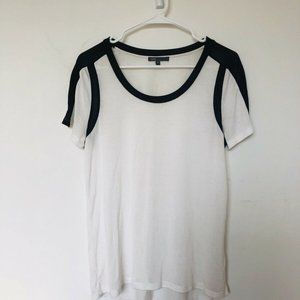 White Vince T-Shirt - Size small